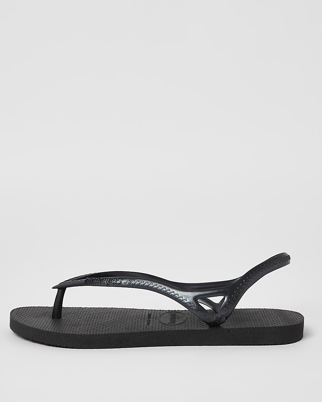 Black Haviana flip flops