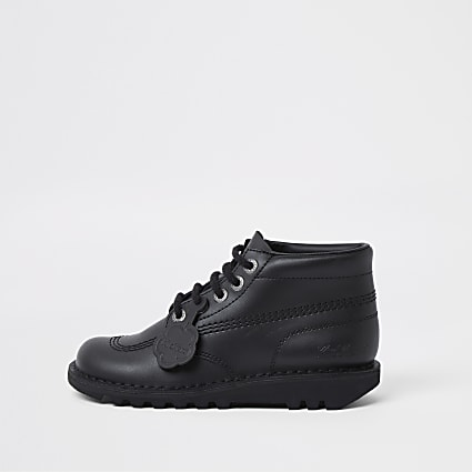 Black Kick Hi Kickers Lace Up 1KF000