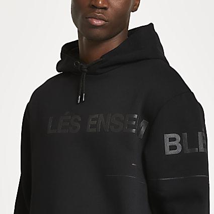 Black 'Les Ensemble' hoodie