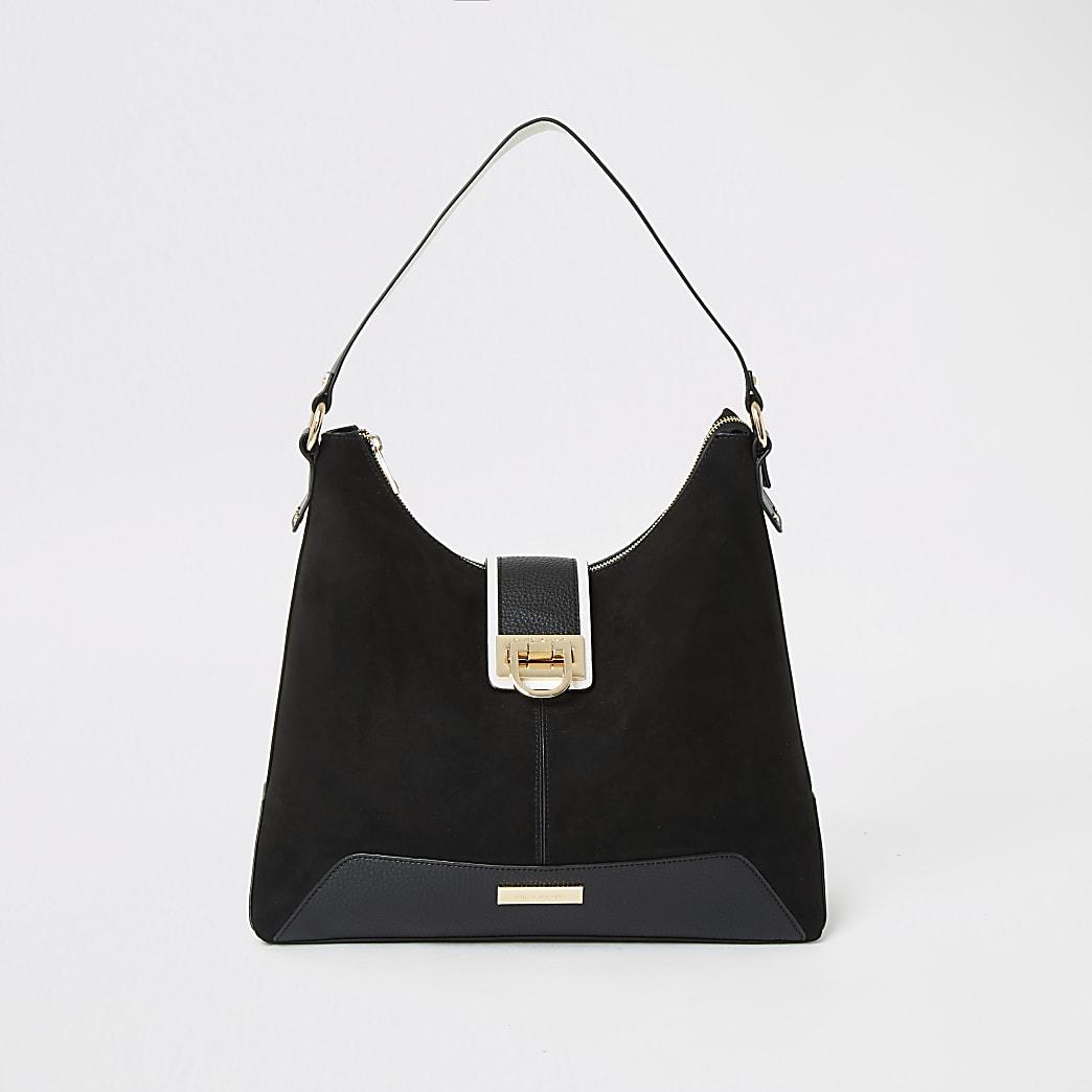 Zwarte tas met slot voor