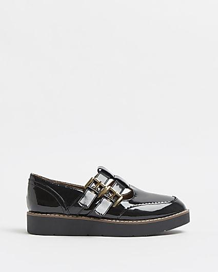 Black Mary Jane pumps