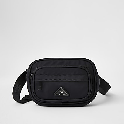 Black MCMLX cross body bag