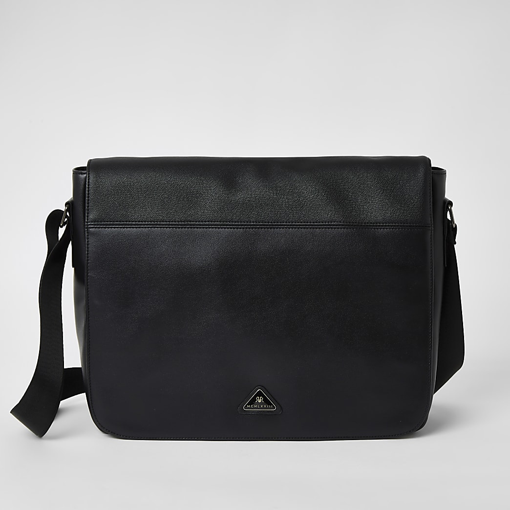 MCMLX - Zwarte tas met flap