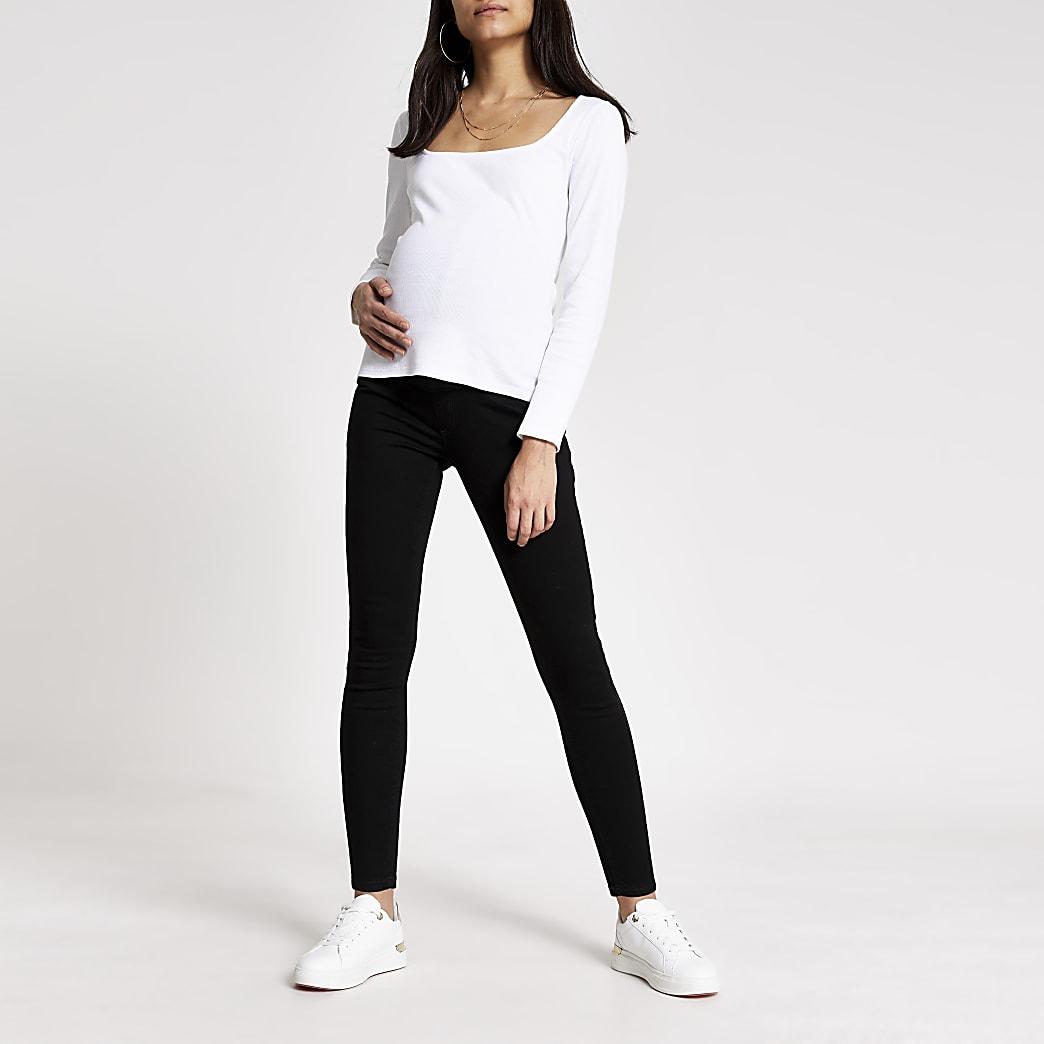 Black Molly Skinny Maternity Jean