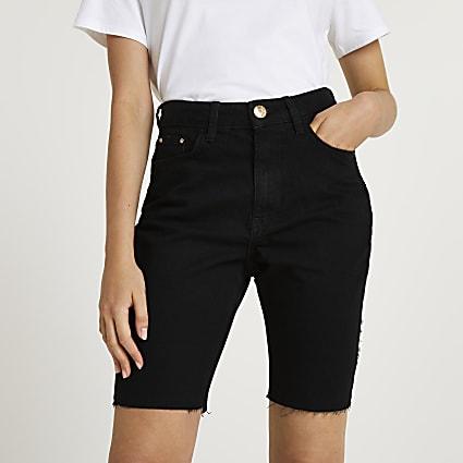 Black mom bum sculpt shorts