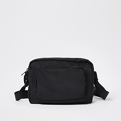 Black nylon cross body