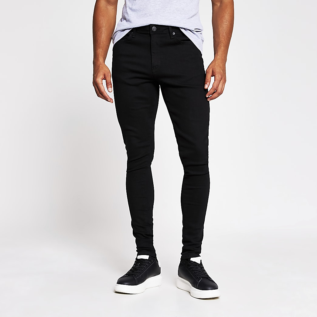 Black Ollie spray on skinny jean