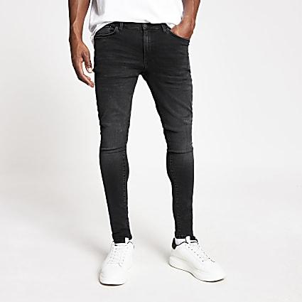 Black Ollie spray on skinny jeans