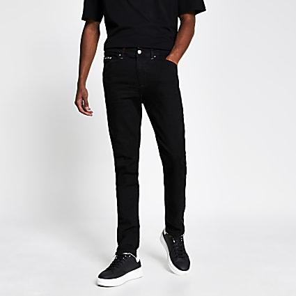 Black oslo skinny denim jeans