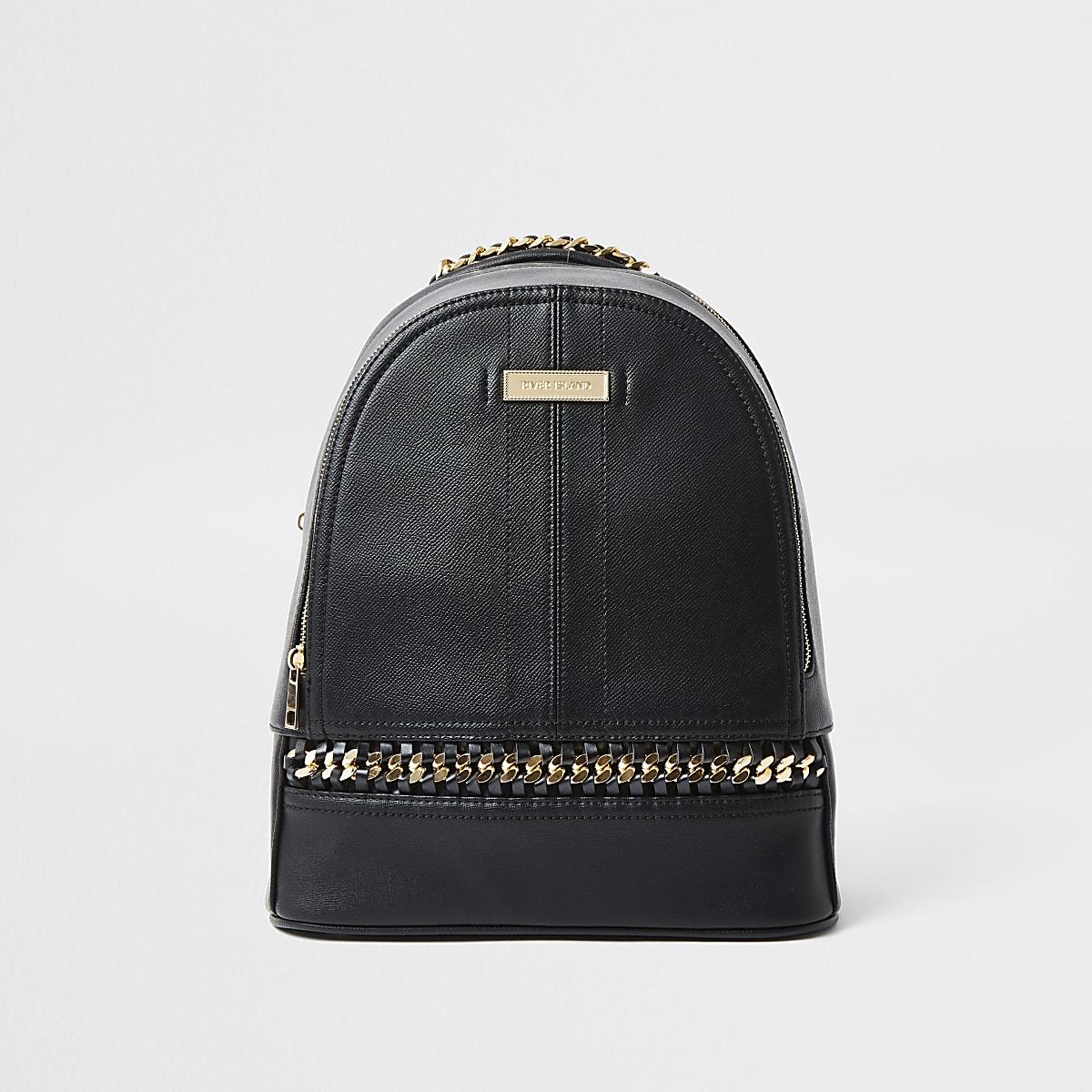 River Island handbag - black backpack