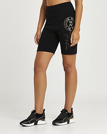 Black RI Active bum sculpt cycling shorts