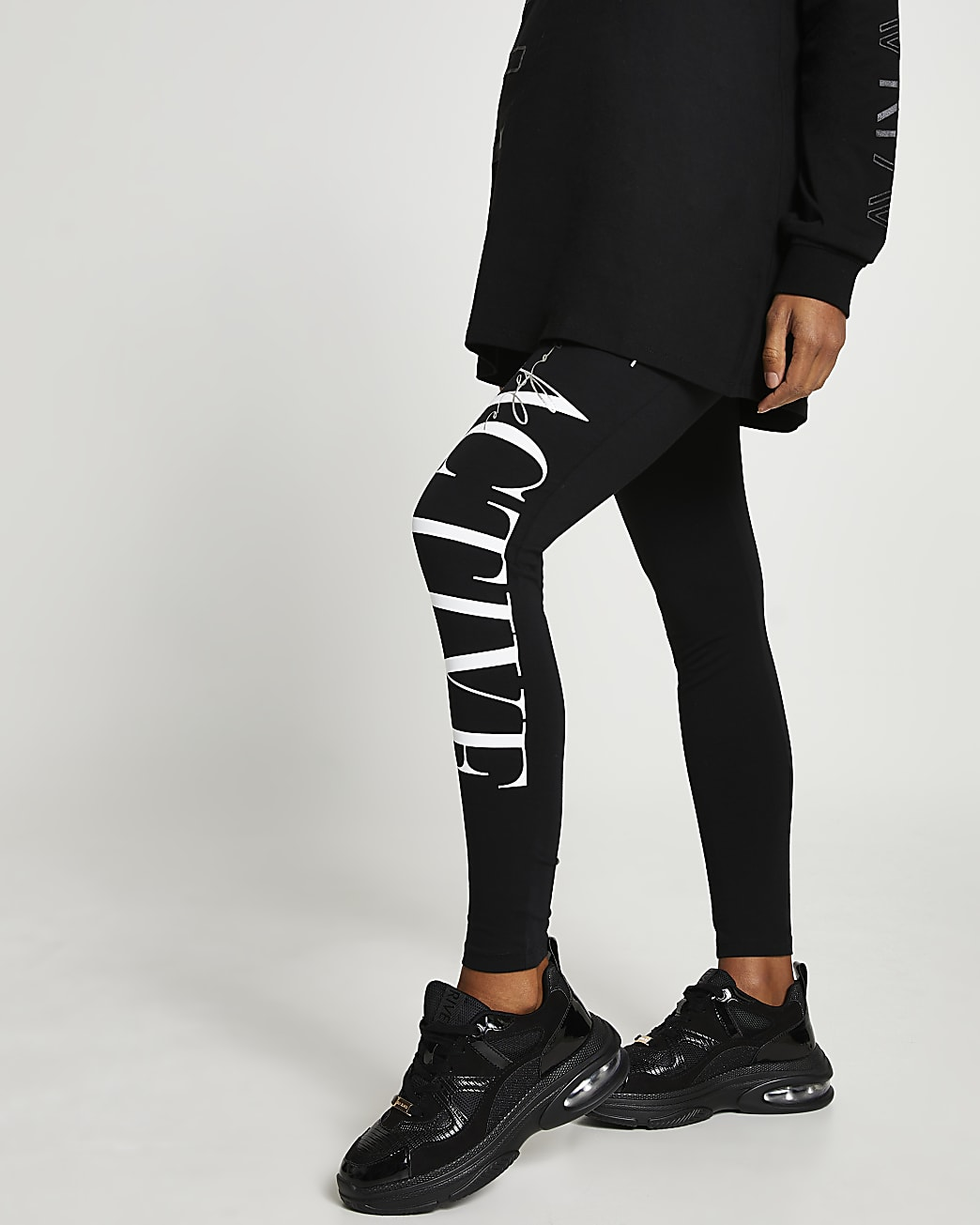 Black RI Active maternity leggings