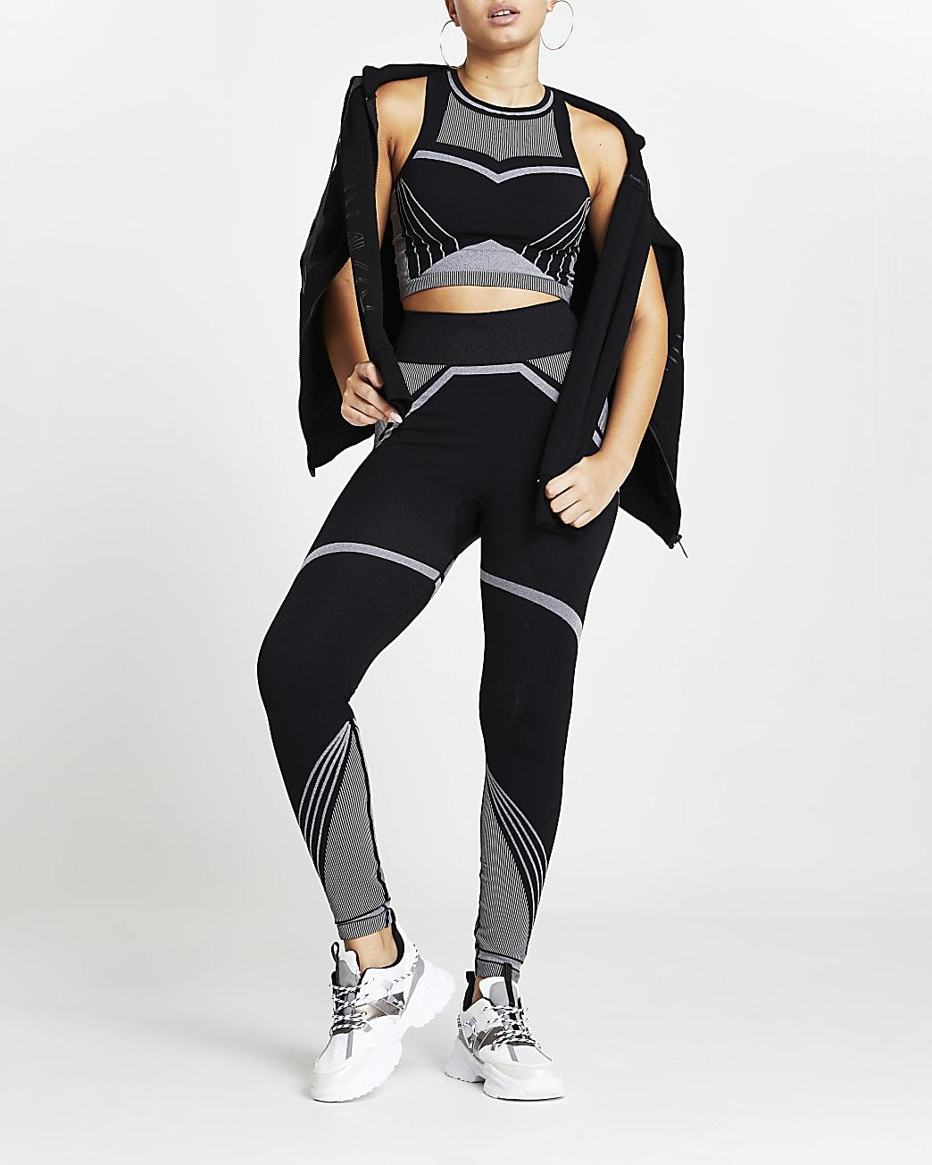 Black RI Active seamless leggings