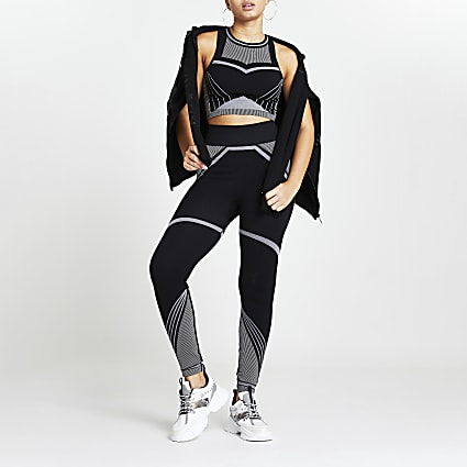 Black RI Active seamless leggings