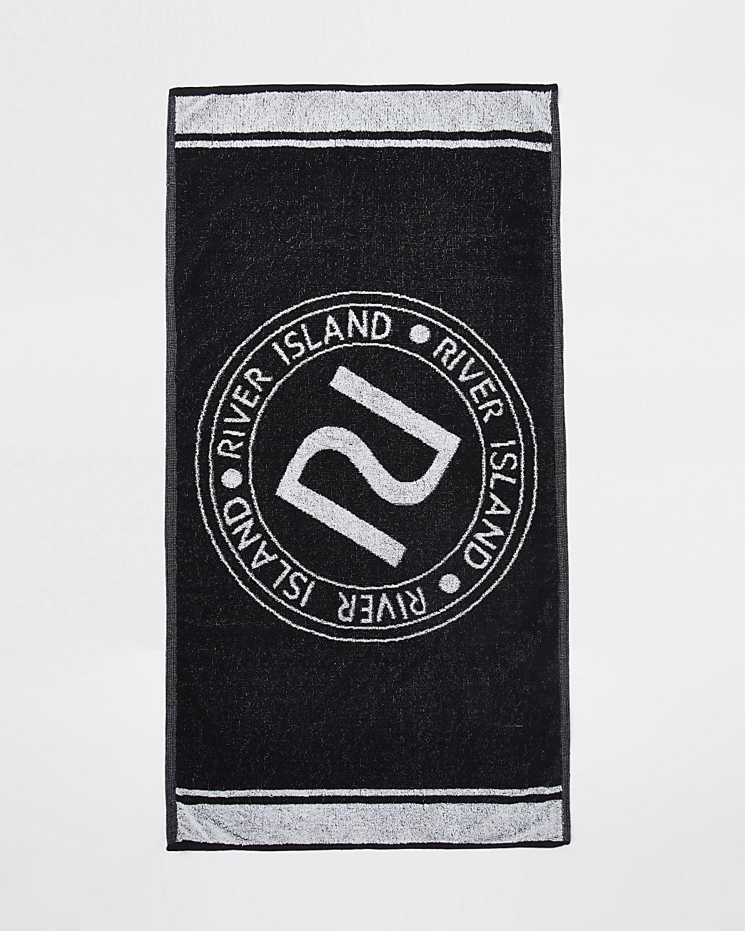 Black RI Active sports towel