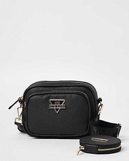 Black RI branded camera bag