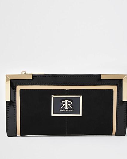 Black RI branded purse