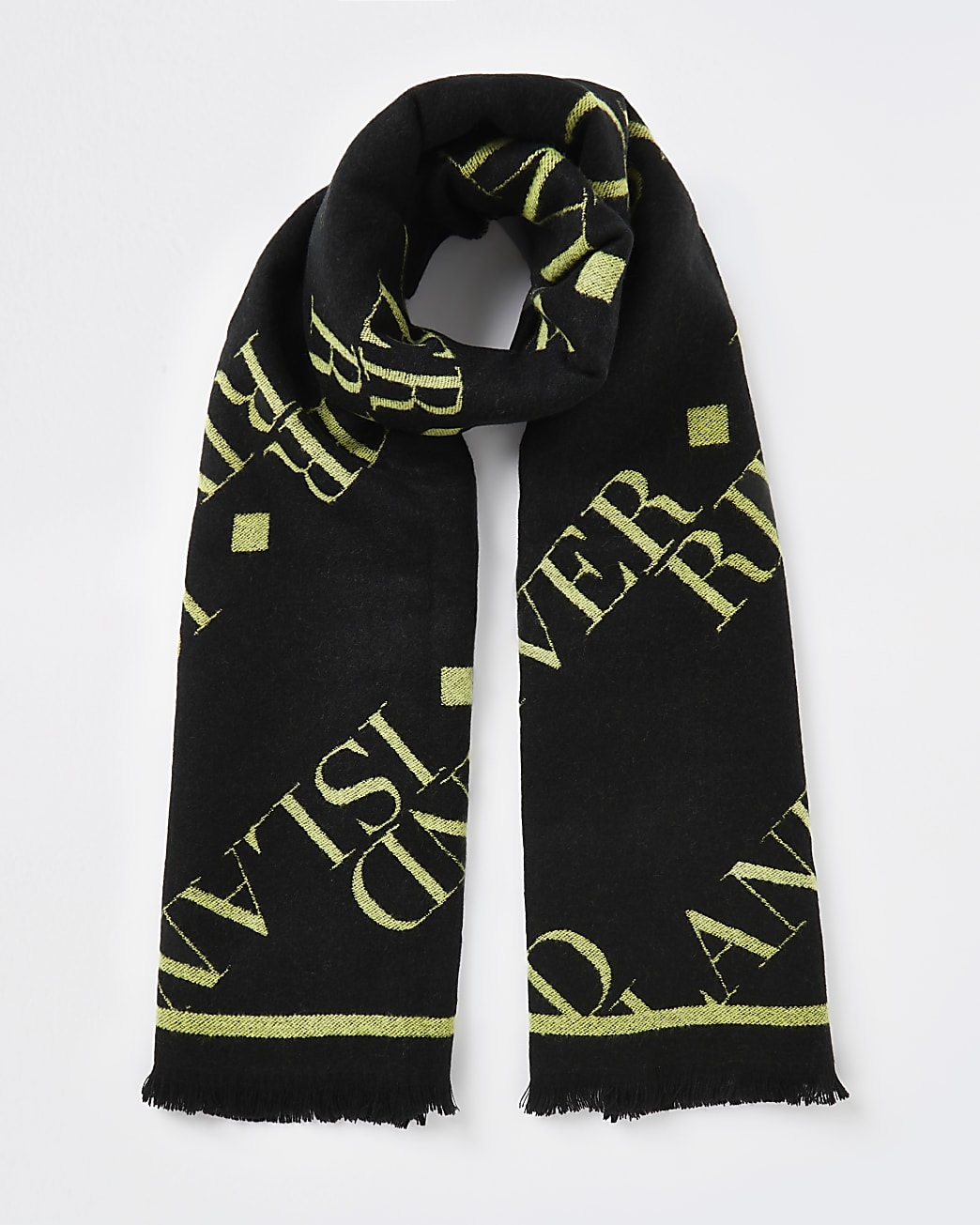 Black RI branded scarf