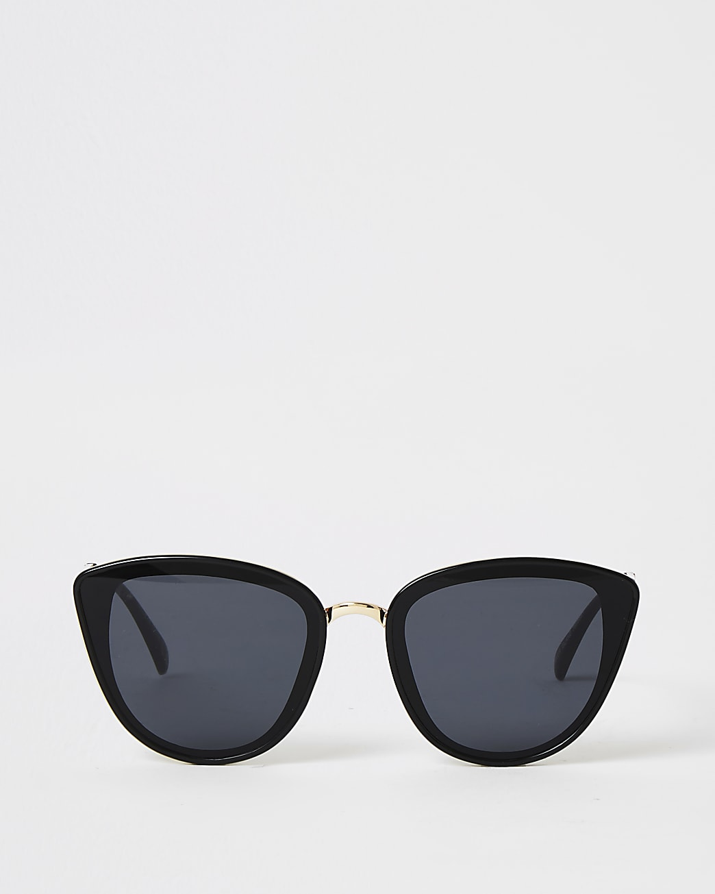 Black RI branded tinted sunglasses