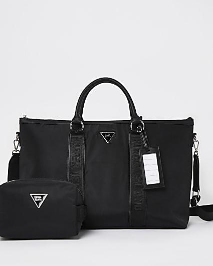 Black RI branded travel bag bundle