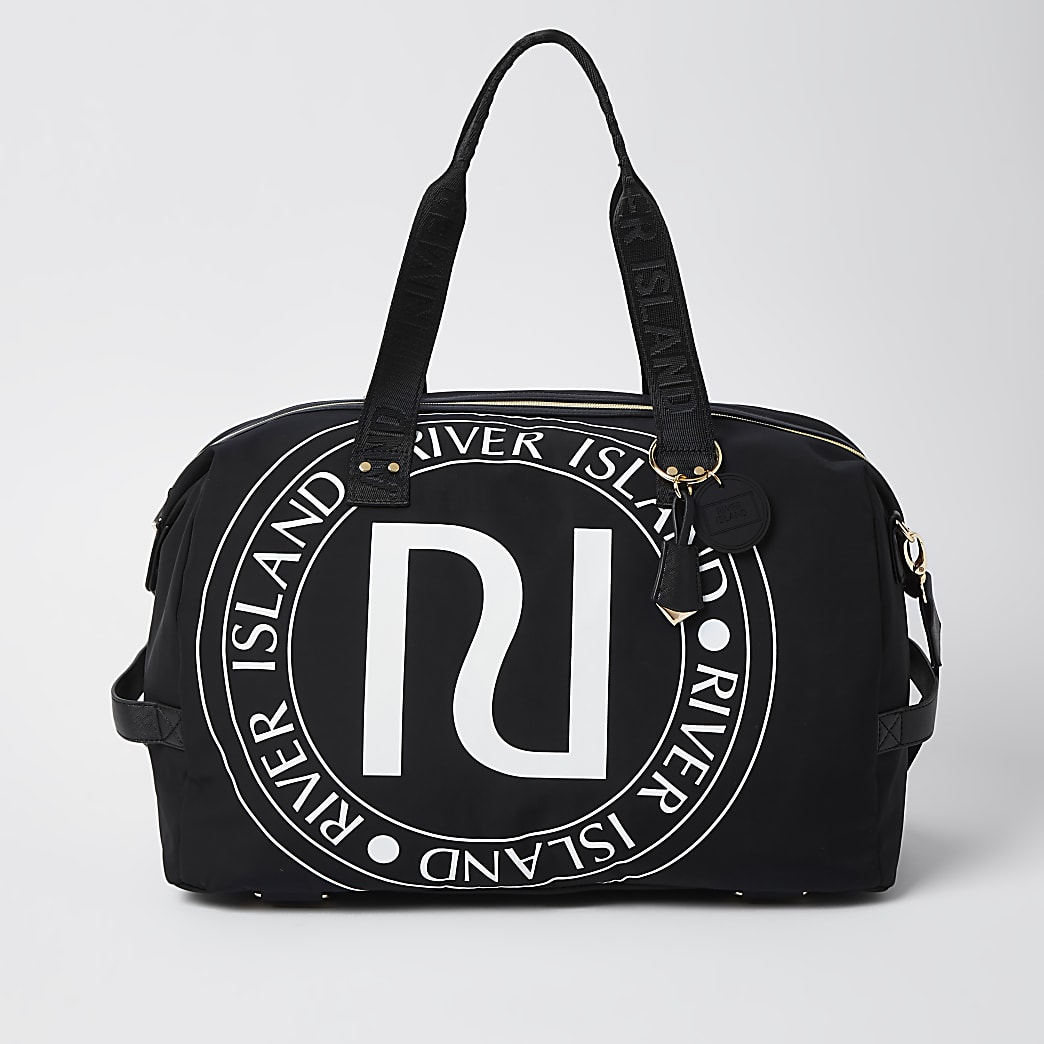 Black RI gym bag