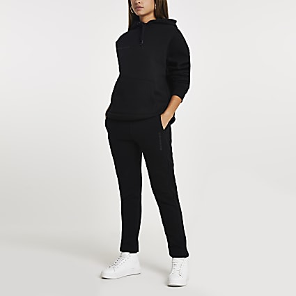 Black RI ONE signature joggers