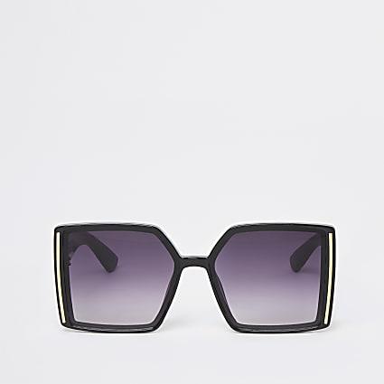 Black RI oversize sunglasses
