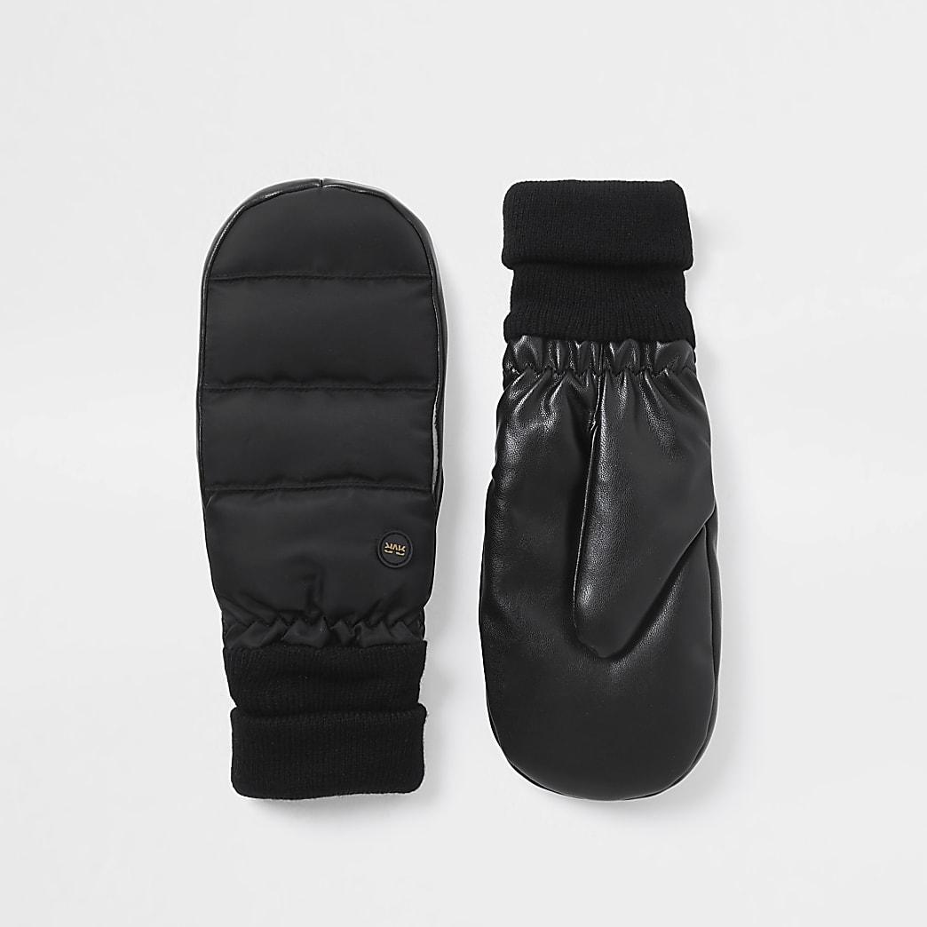 Black RI padded gloves