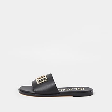 Black RI sandal