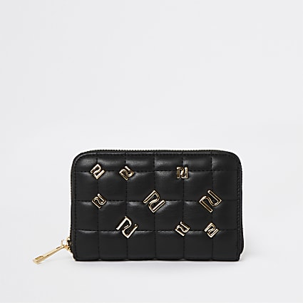Black RI studded purse