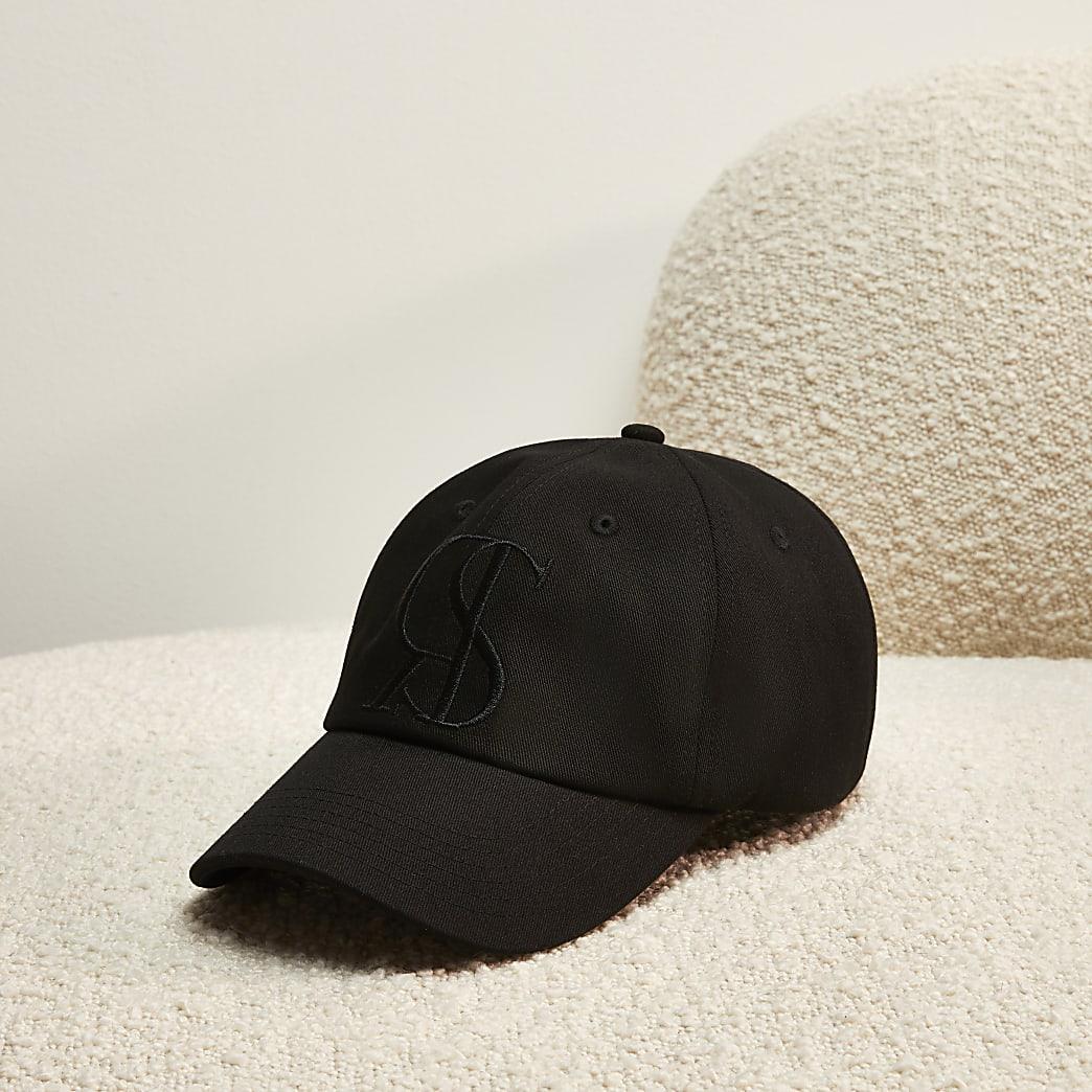 Black RI Studio embroidered sun cap