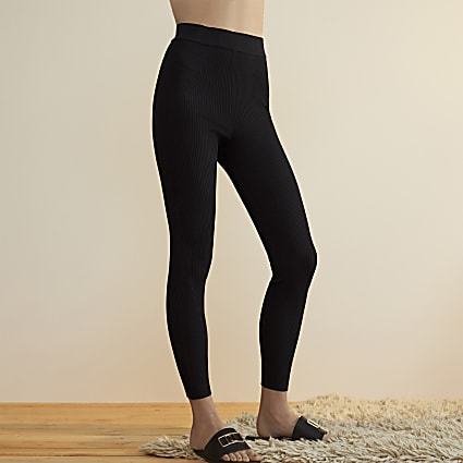 Black RI Studio knitted leggings