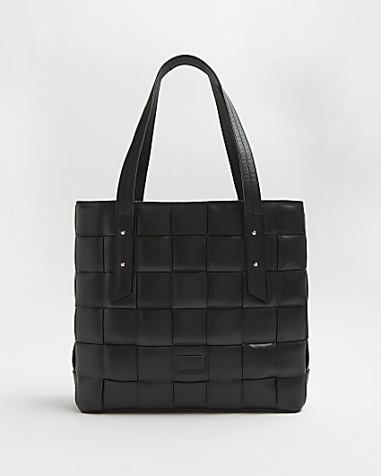 Black RI Studio Leather Bag and Purse Set