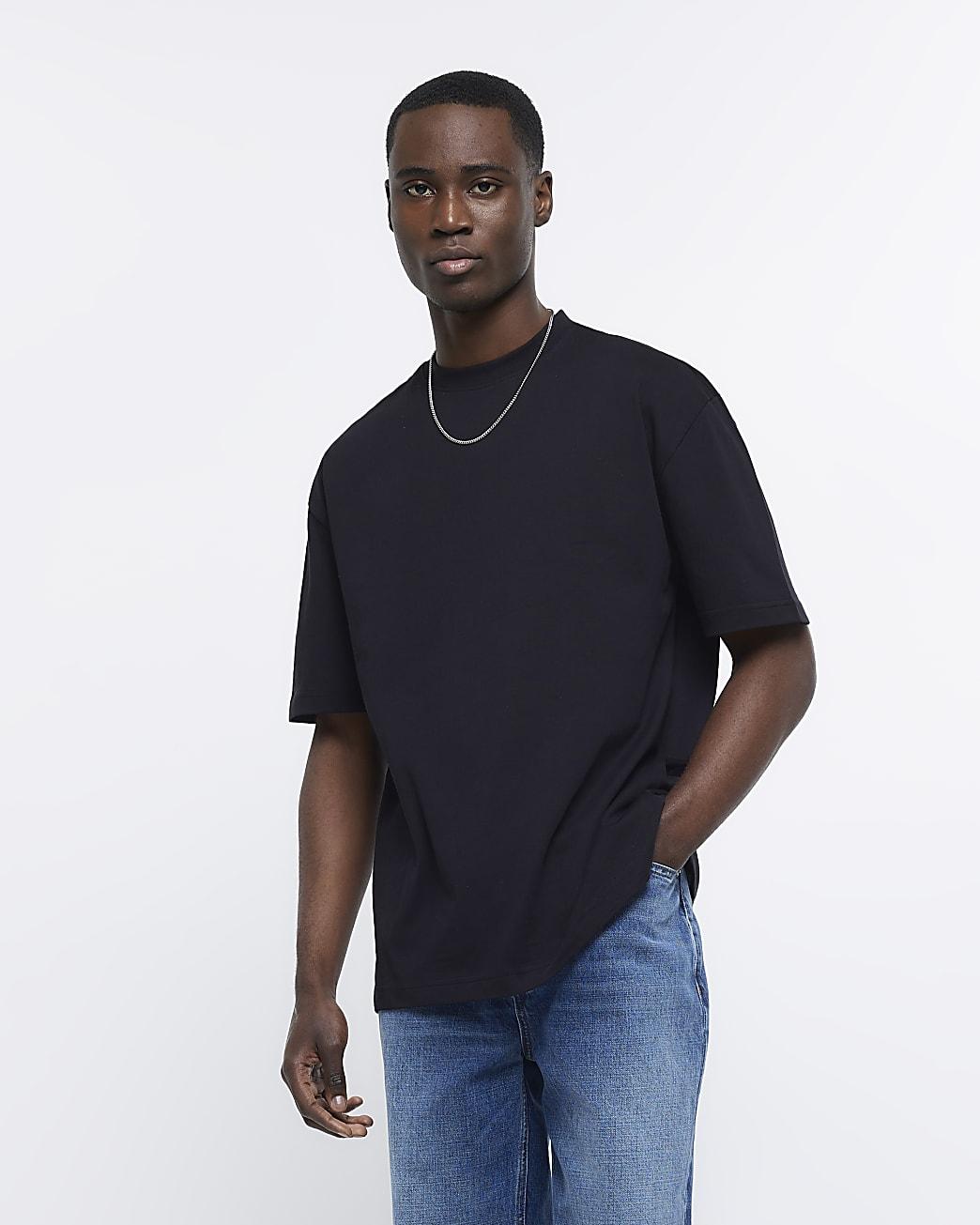 Black RI Studio oversized fit t-shirt