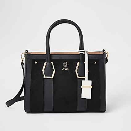 Black RI tote bag