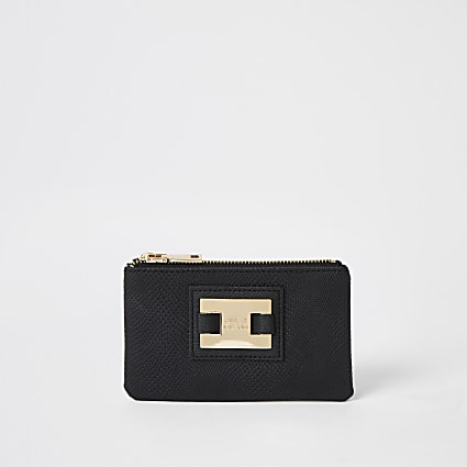 Black RI zip top pouch