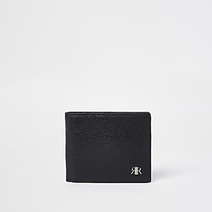 Black 'RIR' fold out wallet
