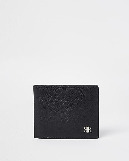 Black 'RIR' fold out wallet