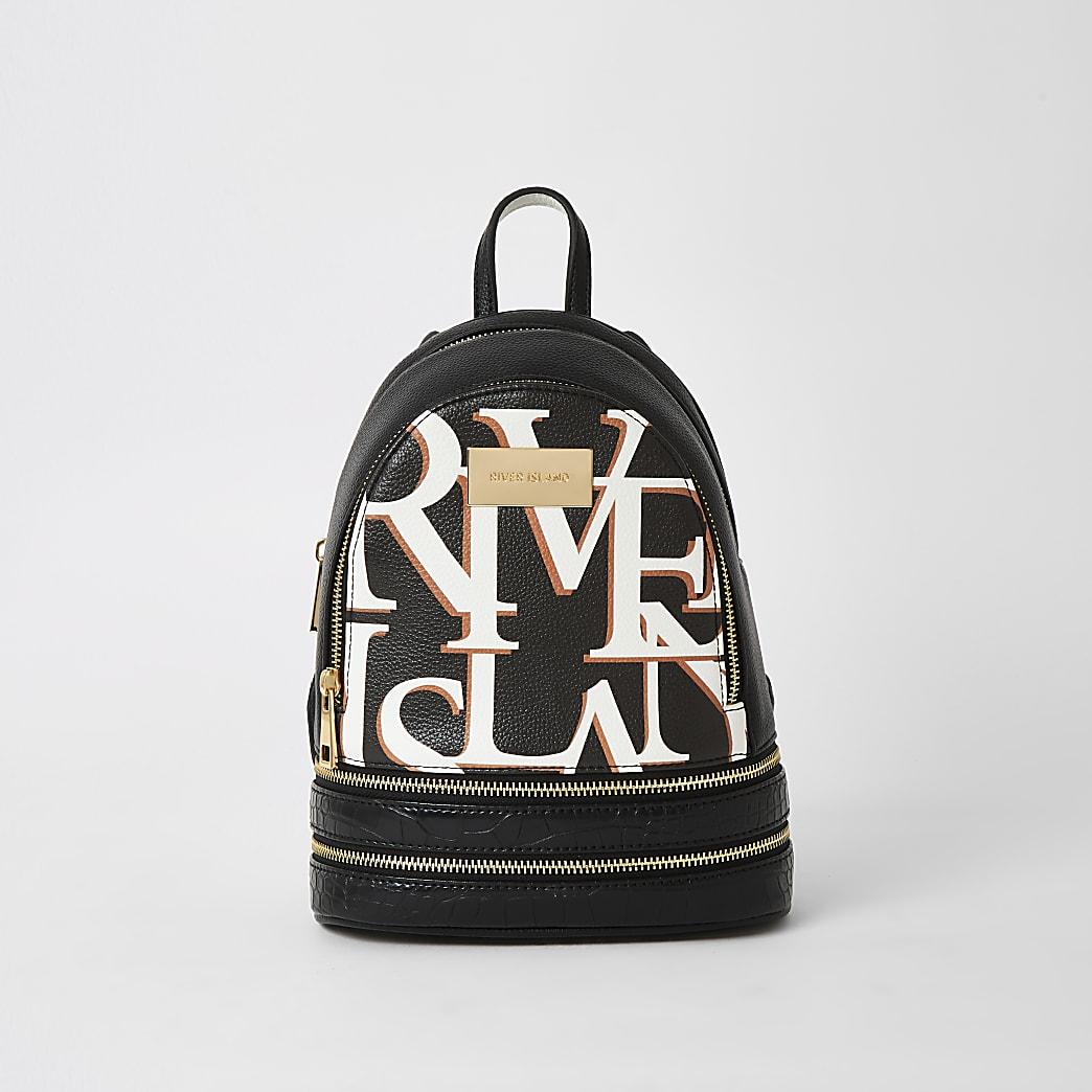Zwarte 'River' mini rugzak