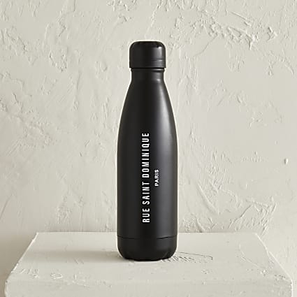 Black Rue saint dominique water bottle