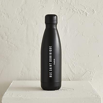 Black Rue saint dominique water bottle