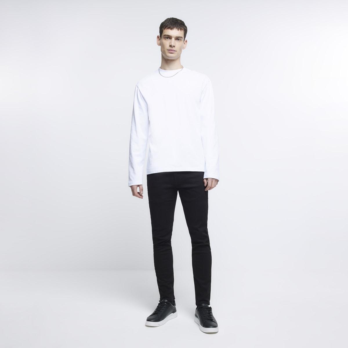 Sid - Zwarte skinny jeans