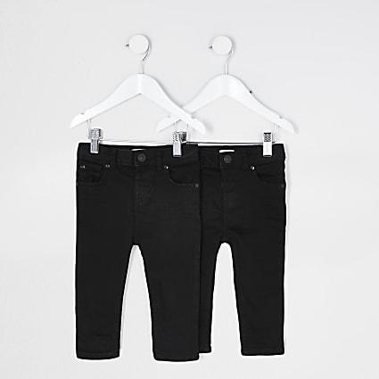 Black skinny jeans 2 pack