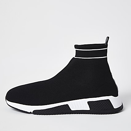 Black sock runner