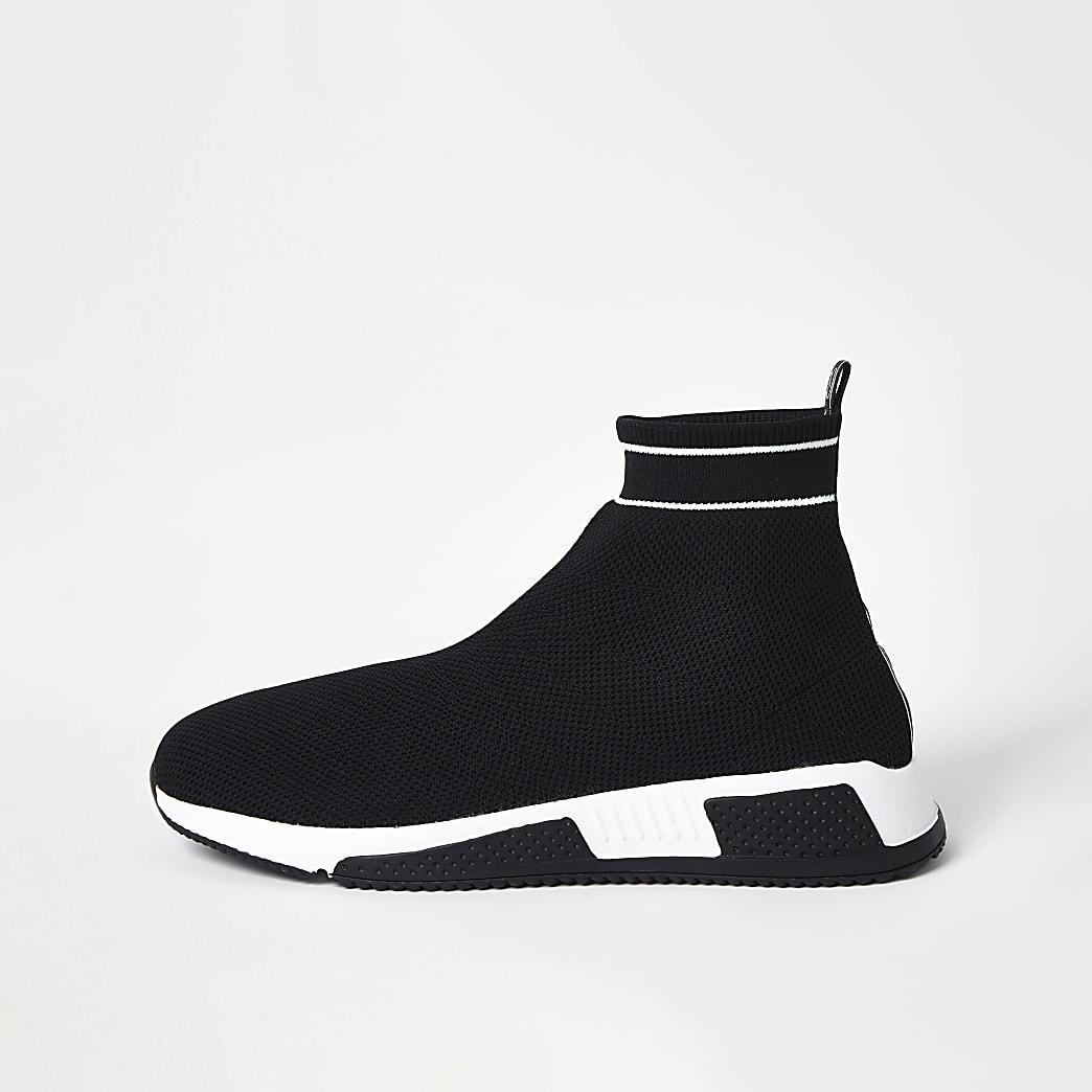 Black sock runner