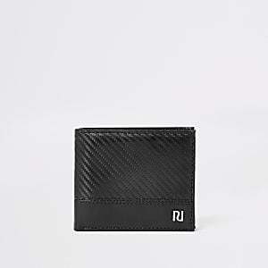 RI - Zwarte uitklapbare portemonnee
