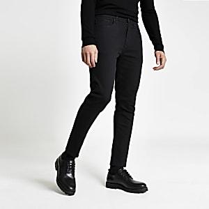 Jimmy – Schwarze Tapered Jeans