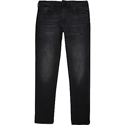 Black washed Sid skinny jeans