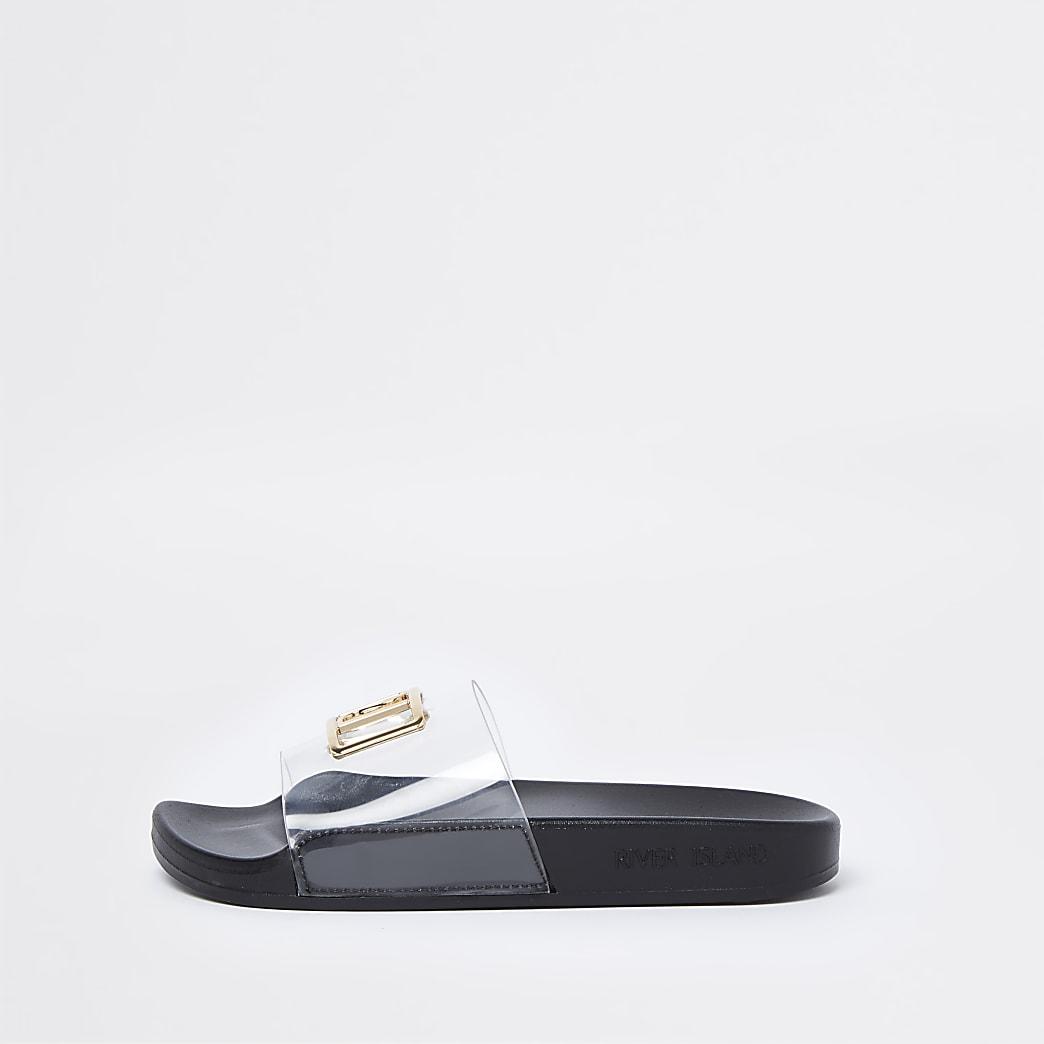 Black wide fit RI perspex sliders
