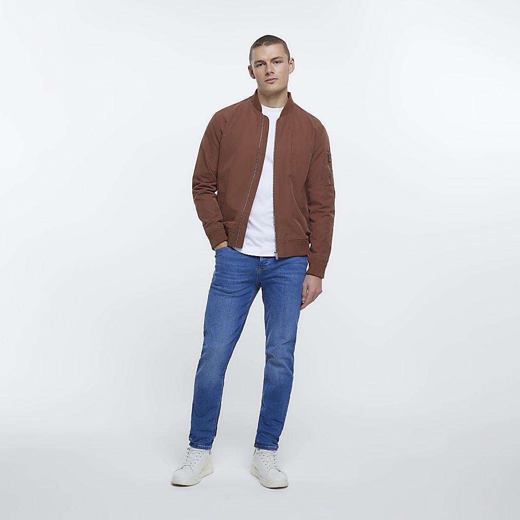 Blue & black slim fit jeans 2 pack